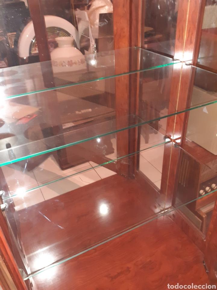 Antigüedades: Bonita Vitrina con 2 cajones, ver fotos.. - Foto 7 - 216354643