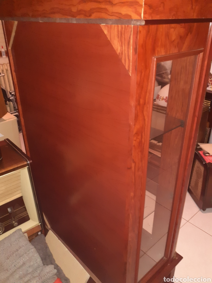 Antigüedades: Bonita Vitrina con 2 cajones, ver fotos.. - Foto 9 - 216354643