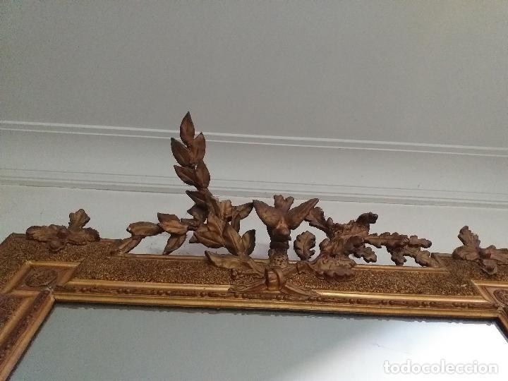 Antigüedades: Antiguo espejo. Requiere restauración. - Foto 4 - 216436168