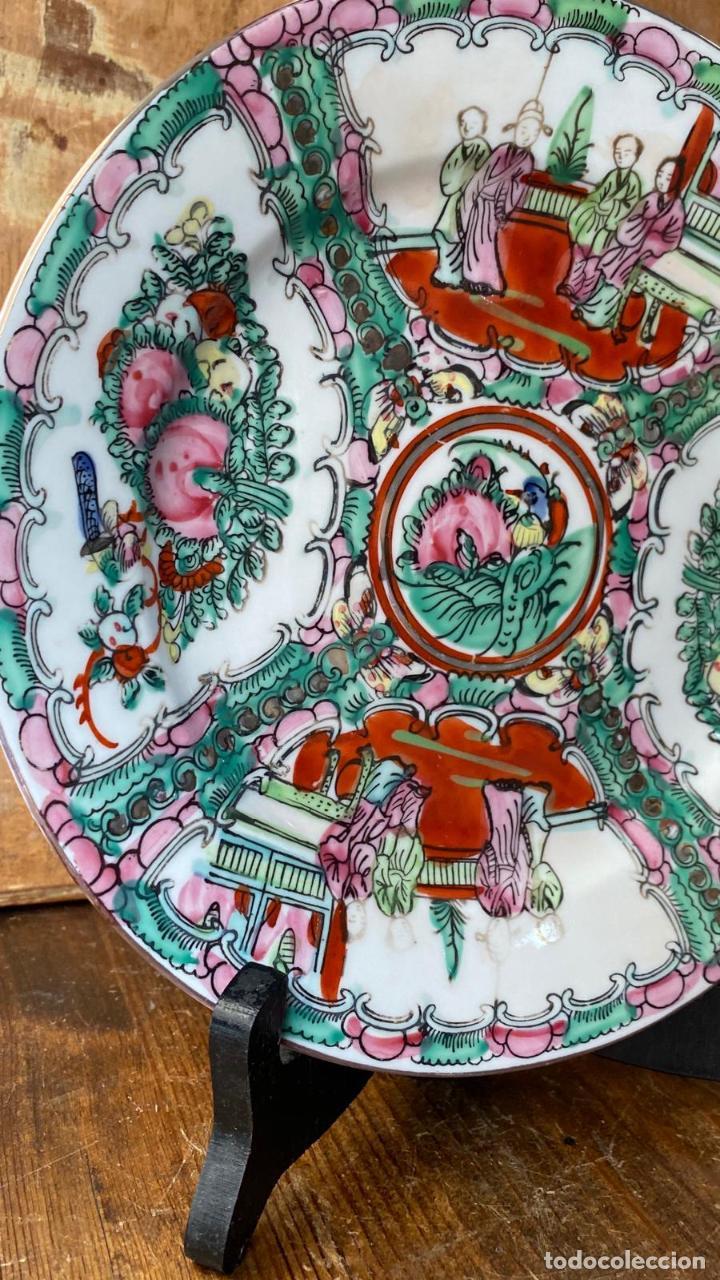 Antigüedades: PLATO PORCELANA EN PORCELANA CHINA - Foto 3 - 216505460