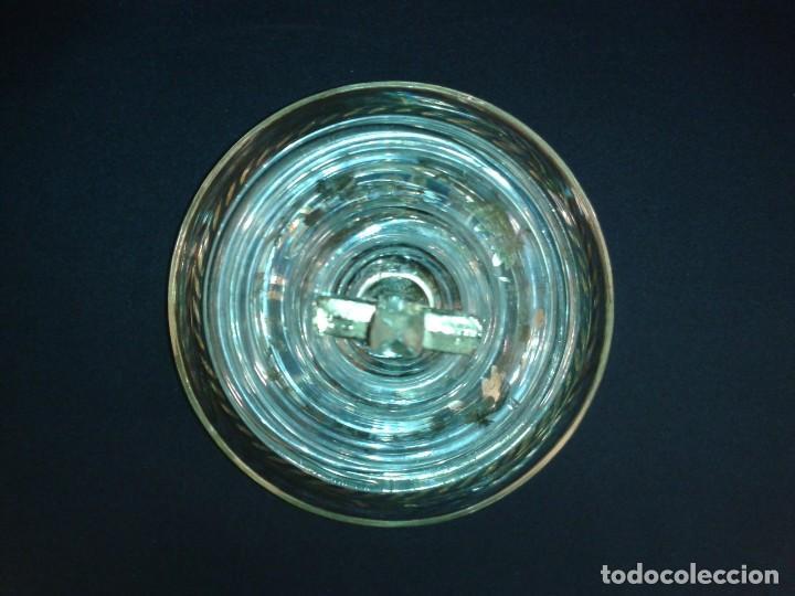 Antigüedades: Copón. Hostiario. Cristal. Posiblemente La Granja. Segovia. Principios del siglo XIX. - Foto 4 - 216545588