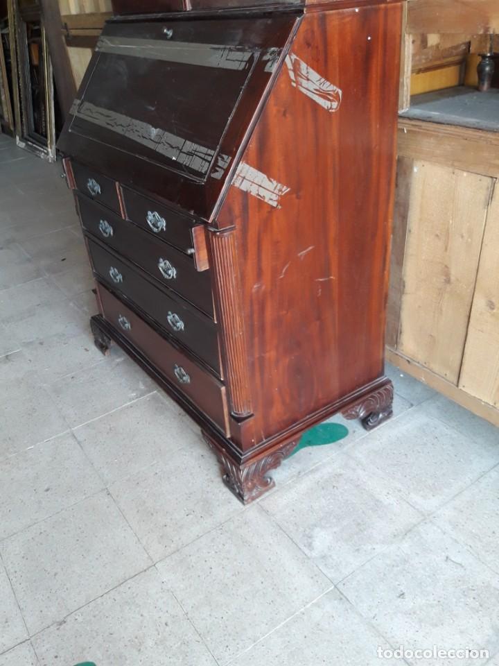 Antigüedades: vitrina escritorio chipendal - Foto 4 - 216547252