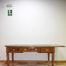 Antigüedades: MESA ANTIGUA ESCRITORIO ESTILO LUIS XVI. Lote 216557653