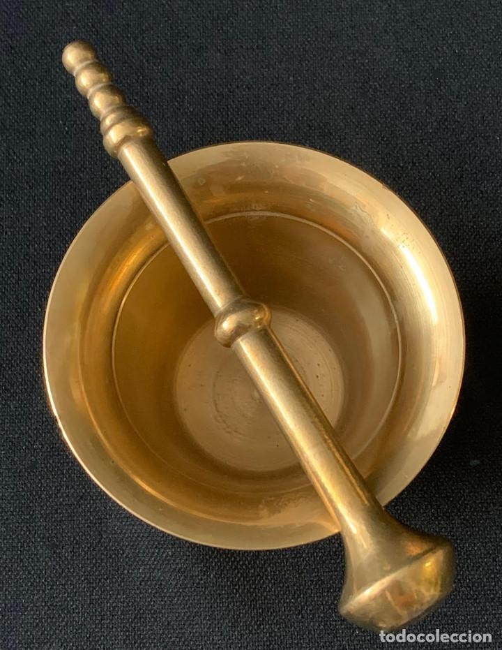 Antigüedades: ALMIREZ MORTERO DE METAL - Foto 6 - 216602545