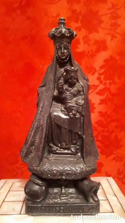 VIRGEN DE NURIA. (Antigüedades - Religiosas - Artículos Religiosos para Liturgias Antiguas)