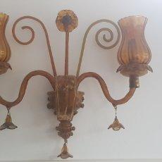 Antigüedades: LAMPARA ANTIGUA DE GORDIOLA. Lote 216605496