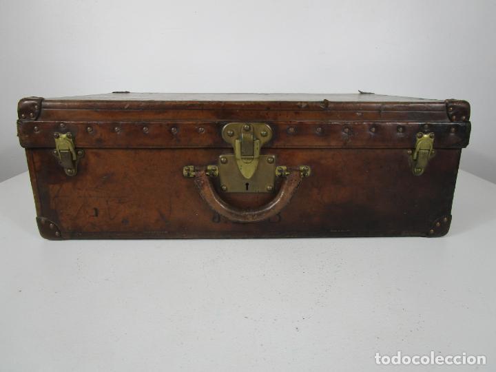 Antigüedades: Maleta - Louis Vuitton - Madera y Cuero - Año 1890-1919 - Foto 2 - 216637271