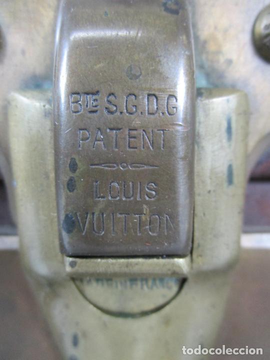 Antigüedades: Maleta - Louis Vuitton - Madera y Cuero - Año 1890-1919 - Foto 8 - 216637271