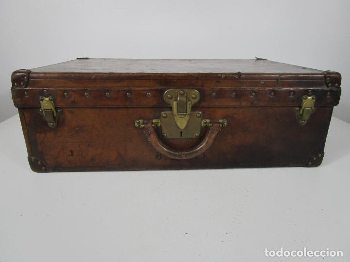 Antigüedades: Maleta - Louis Vuitton - Madera y Cuero - Año 1890-1919 - Foto 11 - 216637271
