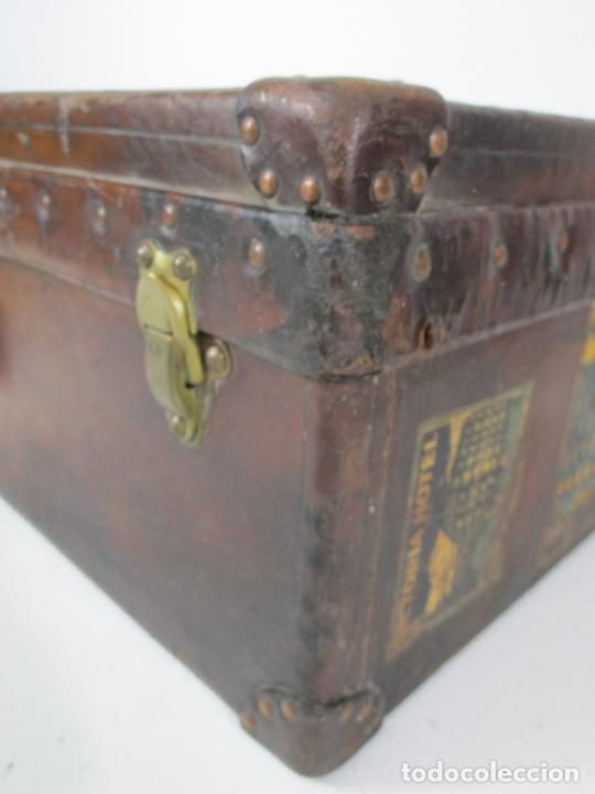 Antigüedades: Maleta - Louis Vuitton - Madera y Cuero - Año 1890-1919 - Foto 15 - 216637271