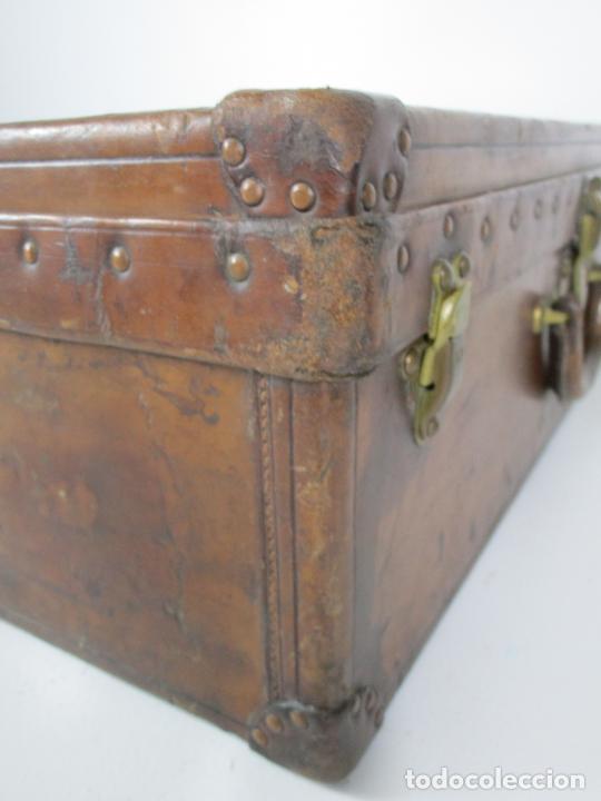 Antigüedades: Maleta - Louis Vuitton - Madera y Cuero - Año 1890-1919 - Foto 21 - 216637271