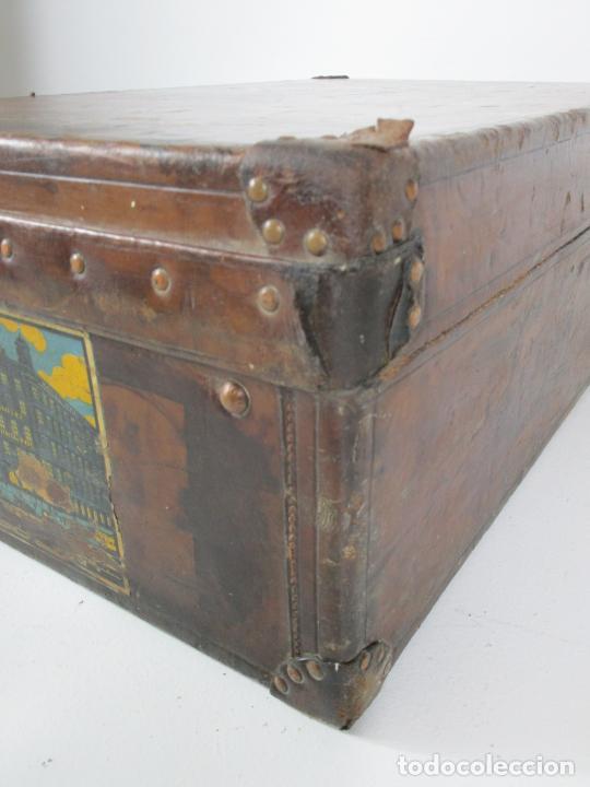Antigüedades: Maleta - Louis Vuitton - Madera y Cuero - Año 1890-1919 - Foto 25 - 216637271