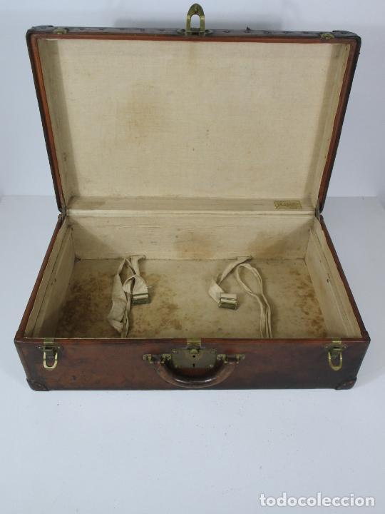 Antigüedades: Maleta - Louis Vuitton - Madera y Cuero - Año 1890-1919 - Foto 26 - 216637271
