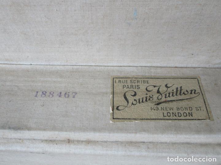 Antigüedades: Maleta - Louis Vuitton - Madera y Cuero - Año 1890-1919 - Foto 30 - 216637271