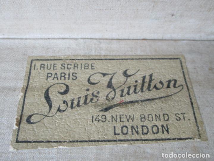 Antigüedades: Maleta - Louis Vuitton - Madera y Cuero - Año 1890-1919 - Foto 31 - 216637271