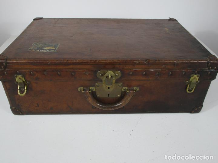 Antigüedades: Maleta - Louis Vuitton - Madera y Cuero - Año 1890-1919 - Foto 38 - 216637271