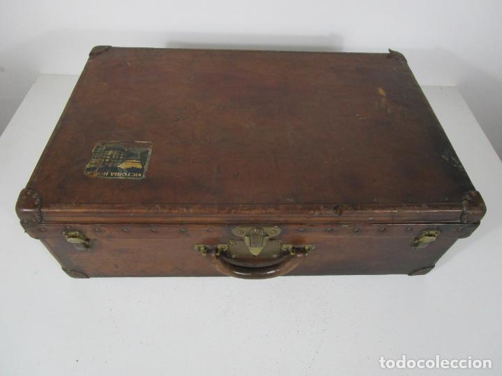 Antigüedades: Maleta - Louis Vuitton - Madera y Cuero - Año 1890-1919 - Foto 40 - 216637271