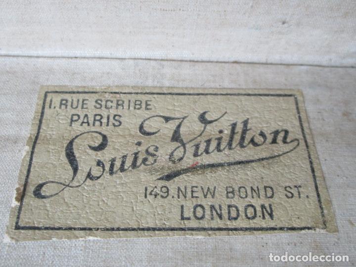 Antigüedades: Maleta - Louis Vuitton - Madera y Cuero - Año 1890-1919 - Foto 41 - 216637271