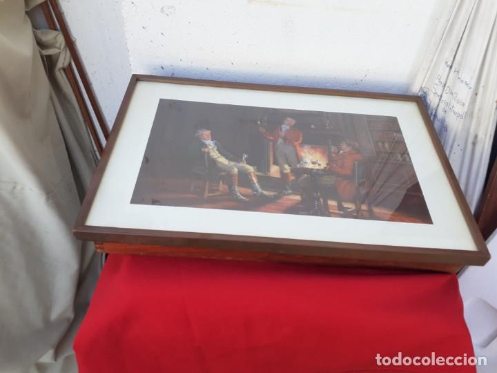 Antigüedades: perchero cuadro - Foto 3 - 216653086