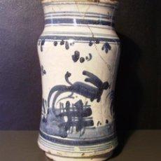 Oggetti Antichi: ALBARELO CERÁMICA ARAGONESA DE MUEL XVII – XVIII. Lote 216687896