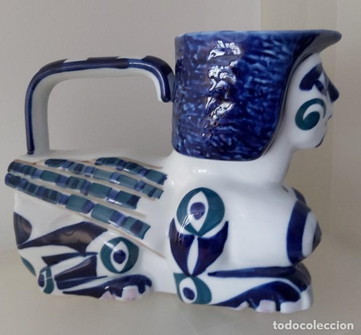 Antigüedades: Gran Jarra Esfinge Sargadelos. Isaac Diaz Pardo - Foto 12 - 216714592