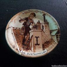 Antigüedades: PLATO DECORATIVO DE CERAMICA HECHO EN FRANCIA. Lote 216766477