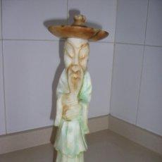 Antigüedades: CHINO DE MARMOL O ALABASTRO ANTIGUA. Lote 216770967