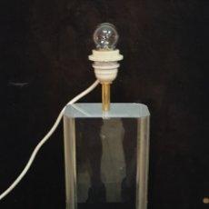 Antigüedades: LAMPARA DE METACRILATO. Lote 216799455