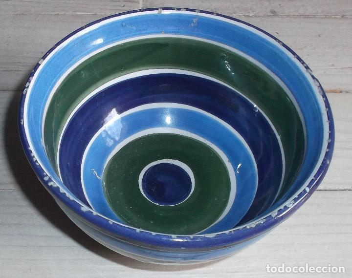 CUENCO CERÁMICA POPULAR VIDRIADA LA BISBAL (Antigüedades - Porcelanas y Cerámicas - La Bisbal)