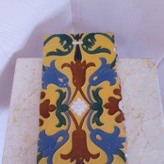 Antigüedades: ANTIGUO Y BONITO AZULEJO DE MENSAQUE RODRÍGUEZ TRIANA (SEVILLA). Lote 216872070