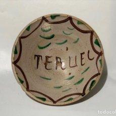 Antigüedades: CUENCO DE CERÁMICA DE TERUEL. SIGLO XIX. Lote 216880537