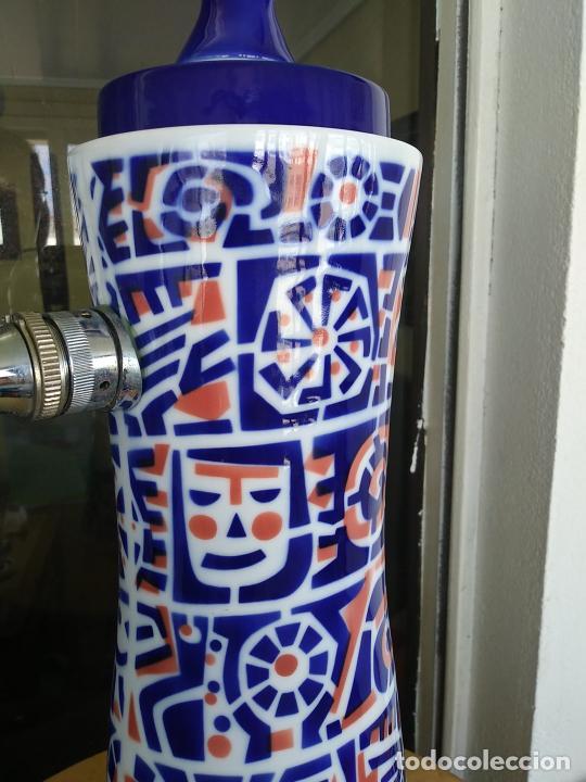 Antigüedades: Grifo porcelana Sargadelos cerveza Estrella Galicia - Foto 4 - 247721665