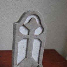 Antigüedades: ANTIGUA BENDITERA DE PIEDRA TALLADA. Lote 216960337