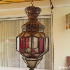Antigüedades: LAMPARA O FAROL MODERNISTA VEAN FOTOGRAFIAS Y DESCRIPCION. Lote 216966977
