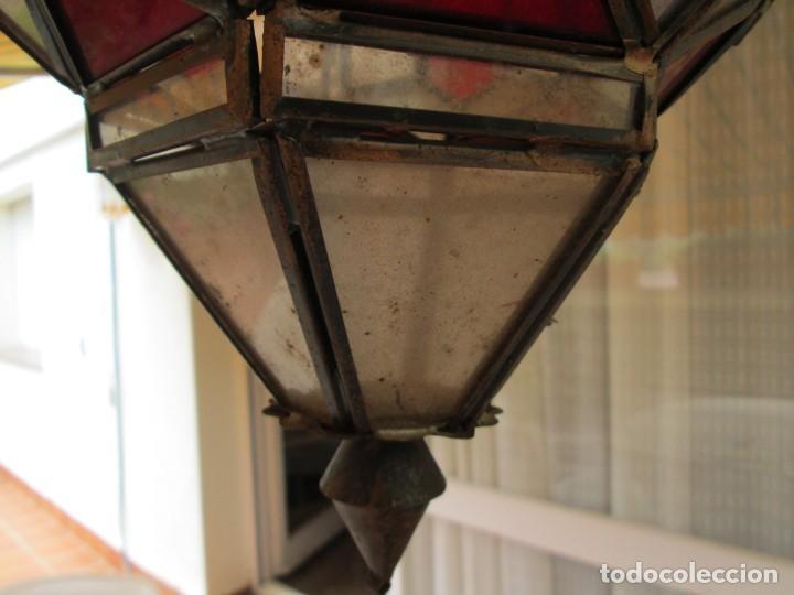 Antigüedades: LAMPARA O FAROL MODERNISTA VEAN FOTOGRAFIAS Y DESCRIPCION - Foto 3 - 216966977