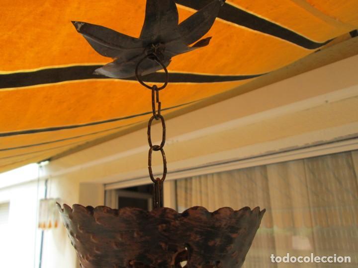 Antigüedades: LAMPARA O FAROL MODERNISTA VEAN FOTOGRAFIAS Y DESCRIPCION - Foto 6 - 216966977