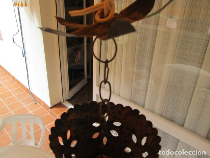 Antigüedades: LAMPARA O FAROL MODERNISTA VEAN FOTOGRAFIAS Y DESCRIPCION - Foto 7 - 216966977