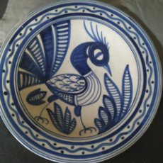 Antigüedades: PLATO HONDO DE CERÁMICA MARCA SIMORA. Lote 216989515