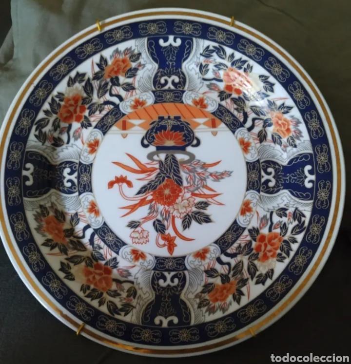 PLATO DE PORCELANA JAPONESA IMARI (Antigüedades - Porcelana y Cerámica - Japón)