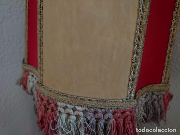 Antigüedades: ANTIGUA LÁMPARA SOBREMESA PIE DE PORCELANA - Foto 11 - 216990403