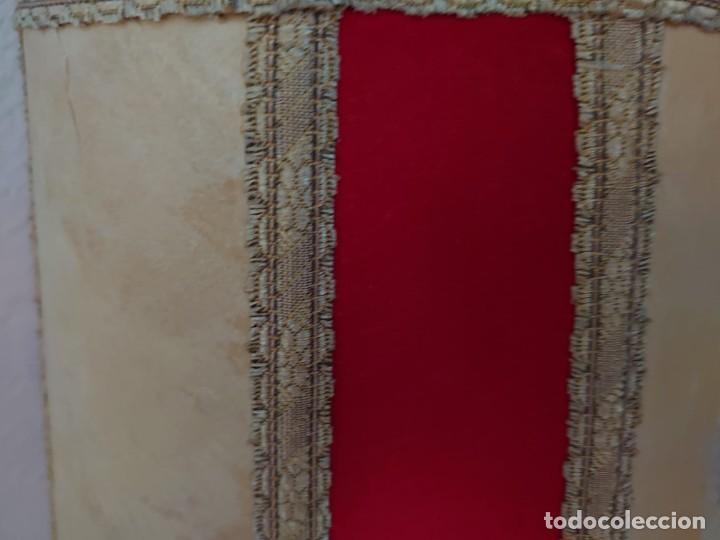 Antigüedades: ANTIGUA LÁMPARA SOBREMESA PIE DE PORCELANA - Foto 16 - 216990403