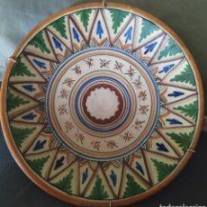 Antigüedades: PLATO DE CERÁMICA, SANGUÍNO TOLEDO 90. Lote 216990408