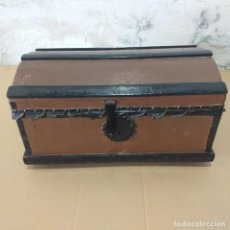 Antigüedades: BAULILLO DE MADERA . FINALES SIGLO XVIII.. Lote 217028256
