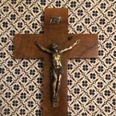 Antigüedades: COLECCION CRUCIFIJO CRISTO INRI CRUZ JESUS IGLESIA. Lote 217045088