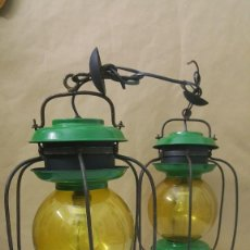 Antigüedades: ANTIGUAS LAMPARAS DE BARCO. Lote 217078410