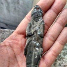 Antigüedades: ANTIQUÍSIMO EXVOTO - LATÓN CON BAÑO DE PLATA - MARAVILLOSA PÁTINA - VER MIS OTROS LOTES EN SUBASTA. Lote 217104756