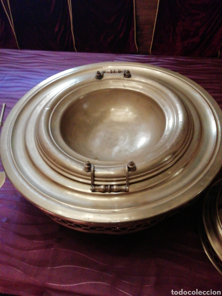 Antigüedades: Brasero siglo 18 a 19 - Foto 10 - 217107012