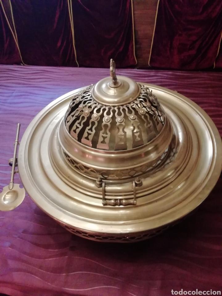 Antigüedades: Brasero siglo 18 a 19 - Foto 12 - 217107012