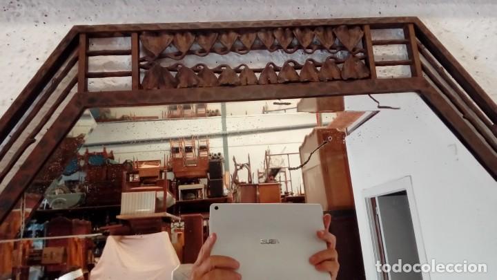 Antigüedades: consola art deco de forja y marmol- - Foto 6 - 217111993