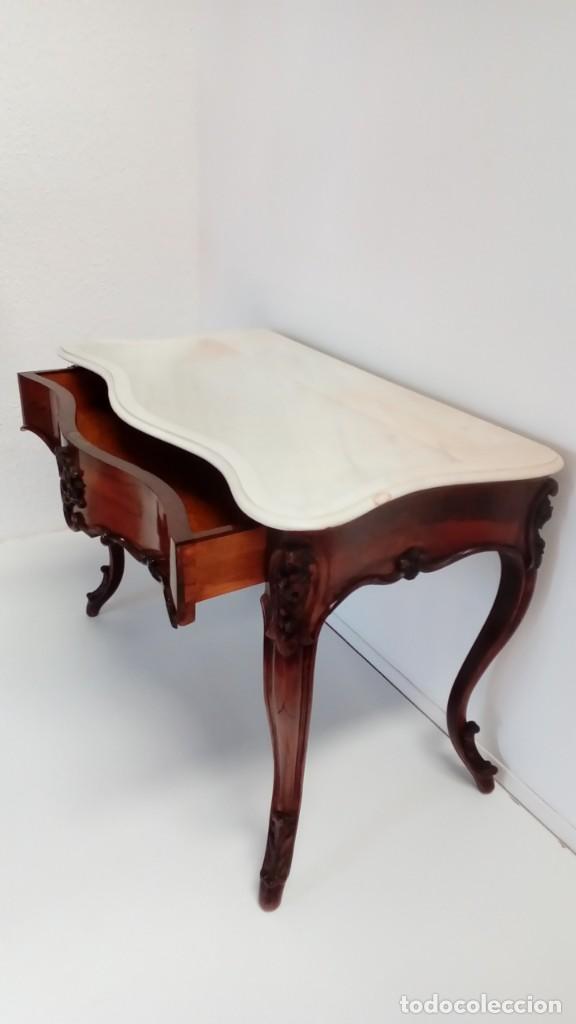 Antigüedades: consola francesa -lavatorio- - Foto 2 - 217115922
